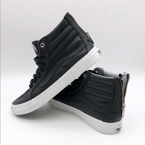 2ef4768b1e7097 Vans Hologram Sk8-Hi Slim Zip Shoe